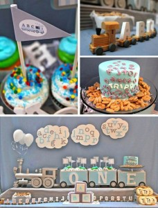 Alphabet Train Party with So Many Really Cute Ideas via Kara's Party Ideas Kara Allen KarasPartyIdeas.com #AlphabetParty #TrainParty #PartyIdeas #Supplies (24)