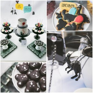 Modern Australian Animal Party with Lots of Really Cute Ideas via Kara's Party Ideas Kara Allen KarasPartyIdeas.com #AnimalParty #GenderNeutralParty #ModernParty #PartyIdeas #Supplies (1)
