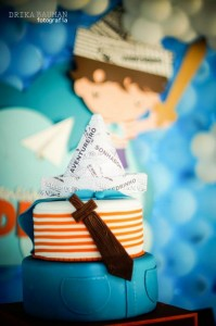 Adventures of a Little Boy Themed Birthday Party with Lots of Really Cute Ideas via Kara's Party Ideas | KarasPartyIdeas.com #BoyBirthdayParty #AdventureParty #PartyIdeas #Supplies (9)