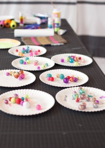 Crafting Themed Birthday Party with Lots of Really Cute Ideas via Kara's Party Ideas Kara Allen KarasPartyIdeas.com #CraftParty #Crafts #PartyIdeas #Supplies (5)
