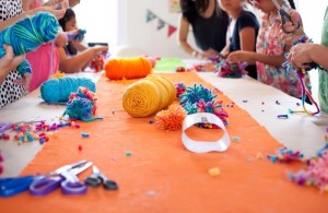 Crafting Themed Birthday Party with Lots of Really Cute Ideas via Kara's Party Ideas Kara Allen KarasPartyIdeas.com #CraftParty #Crafts #PartyIdeas #Supplies (3)