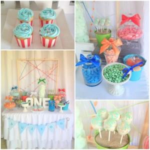 Modern Colorful 1st Birthday Party with such Cute Ideas via Kara's Party Ideas | KarasPartyIdeas.com #ColorfulParty #GenderNeutralParty #PartyIdeas #Supplies (1)