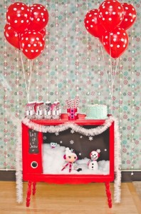 Winter Lalaloopsy Themed Birthday Party with TONS of Ideas via www.KarasPartyIdeas.com #Lalaloopsy #GirlParty #WinterParty #PartyIdeas (7)