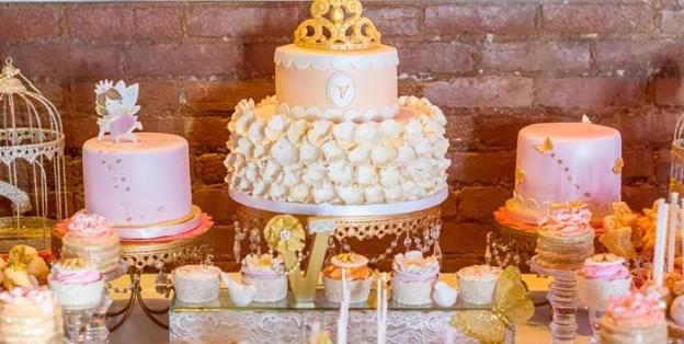 Fairy Princess Themed 1st Birthday Party with Such Cute Ideas via Kara's Party Ideas   KarasPartyIdeas.com #FairyParty #PrincessParty #ButterflyParty #PartyIdeas #Supplies (2)