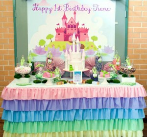 Pastel Princess and the Frog Party with Lots of Cute Ideas via Kara's Party Ideas | KarasPartyIdeas.com #ThePrincessAndThe Frog #Disney #PrincessParty #PartyIdeas #Supplies (8)