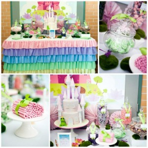Pastel Princess and the Frog Party with Lots of Cute Ideas via Kara's Party Ideas | KarasPartyIdeas.com #ThePrincessAndThe Frog #Disney #PrincessParty #PartyIdeas #Supplies (2)