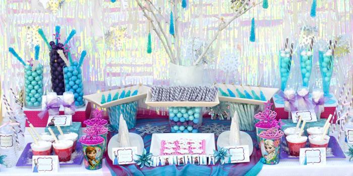 Disneys Frozen Themed Birthday Party Full Of Ideas Via KarasPartyIdeas