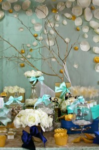 Gold and Mint Baptism with So Many Beautiful Ideas via Kara's Party Ideas | KarasPartyIdeas.com #GoldAndMintParty #BaptismDessertTable #BaptismIdeas #PartyIdeas #Supplies (3)