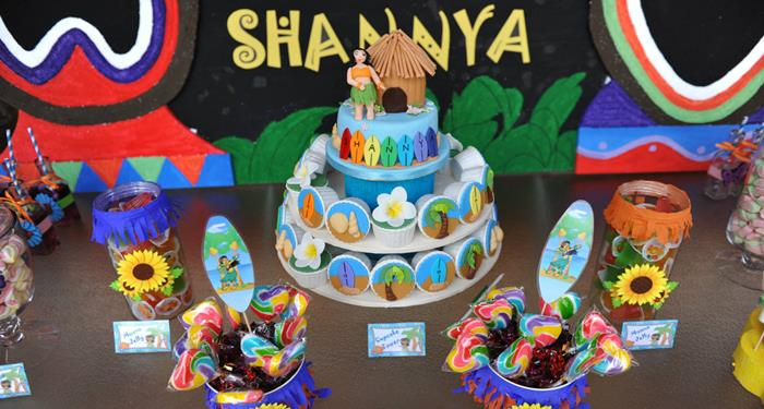 Kara S Party Ideas Hawaiian Themed Birthday Party