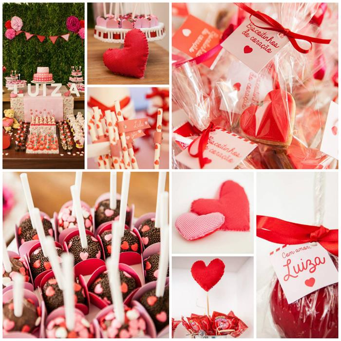 Kara 39 s party ideas a heart party via kara 39 s party ideas for Heart decoration ideas