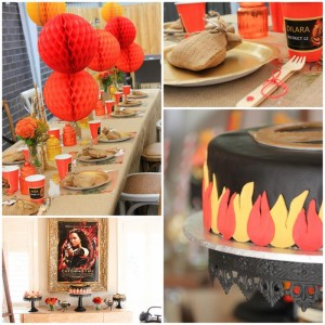 Hunger Games Party with Such Awesome Ideas via Kara's Party Ideas Kara Allen KarasPartyIdeas.com #HungerGamesCatchingFire #TweenParty #PartyIdeas #Supplies (1)