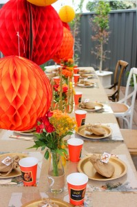 Hunger Games Party with Such Awesome Ideas via Kara's Party Ideas Kara Allen KarasPartyIdeas.com #HungerGamesCatchingFire #TweenParty #PartyIdeas #Supplies (6)