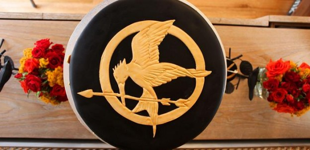 Hunger Games Party with Such Awesome Ideas via Kara's Party Ideas Kara Allen KarasPartyIdeas.com #HungerGamesCatchingFire #TweenParty #PartyIdeas #Supplies (2)