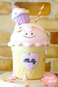 Ice Cream Shoppe Party with So Many Really Cute Ideas via Kara's Party Ideas | KarasPartyIdeas.com #IceCreamParty #PartyIdeas #Supplies (5)
