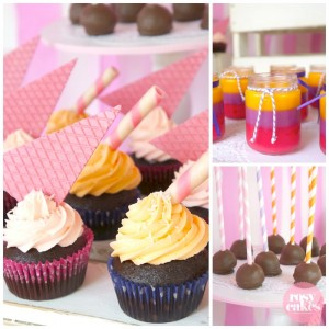 Ice Cream Shoppe Party with So Many Really Cute Ideas via Kara's Party Ideas | KarasPartyIdeas.com #IceCreamParty #PartyIdeas #Supplies (2)