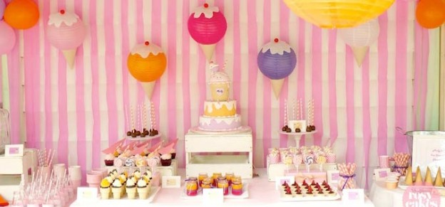 Ice Cream Shoppe Party with So Many Really Cute Ideas via Kara's Party Ideas | KarasPartyIdeas.com #IceCreamParty #PartyIdeas #Supplies (1)