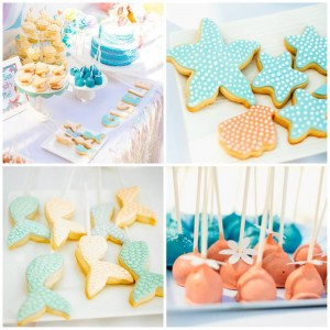 Pastel Mermaid Party with Such Cute Ideas via Kara's Party Ideas | KarasPartyIdeas.com #Mermaids #UnderThe Sea #PartyIdeas #Supplies (1)