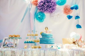 Pastel Mermaid Party with Such Cute Ideas via Kara's Party Ideas | KarasPartyIdeas.com #Mermaids #UnderThe Sea #PartyIdeas #Supplies (10)