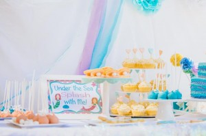 Pastel Mermaid Party with Such Cute Ideas via Kara's Party Ideas | KarasPartyIdeas.com #Mermaids #UnderThe Sea #PartyIdeas #Supplies (9)