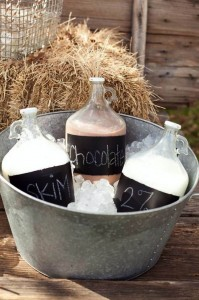 Milk and Cookies Gender Reveal Party with Such Cute Ideas via Kara's Party Ideas Kara Allen KarasPartyIdeas.com #RusticParty #GenderReveal #PartyIdeas #Supplies (7)