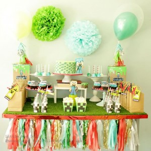 Minecraft Party with So Many Awesome Ideas via Kara's Party Ideas Kara Allen KarasPartyIdeas.com #MinecraftParty #BoyParty #PartyIdeas #Supplies (19)