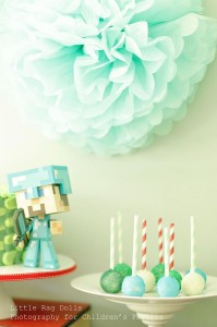 Minecraft Party with So Many Awesome Ideas via Kara's Party Ideas Kara Allen KarasPartyIdeas.com #MinecraftParty #BoyParty #PartyIdeas #Supplies (4)
