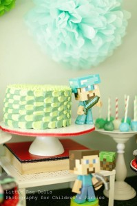 Minecraft Party with So Many Awesome Ideas via Kara's Party Ideas Kara Allen KarasPartyIdeas.com #MinecraftParty #BoyParty #PartyIdeas #Supplies (13)