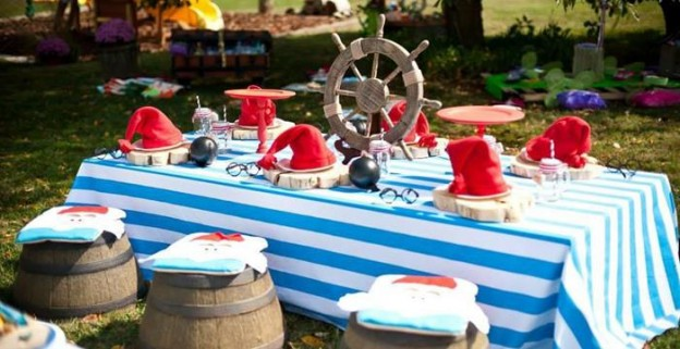 Off to Neverland Themed Birthday Party with So Many Cute Ideas via Kara's Party Ideas | KarasPartyIdeas.com #PeterPanParty #TinkerbellParty #CaptainHook #PartyIdeas #Supplies (2)