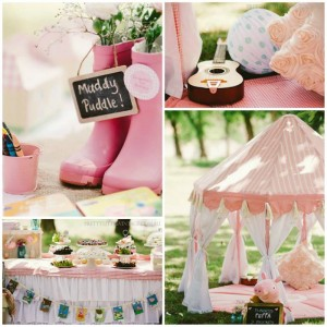 Princess Peppa's Picnic Party with Lots of Really Cute Ideas via Kara's Party Ideas KarasPartyIdeas.com #PicnicParty #PeppaPigParty #PartyIdeas #Supplies (1)
