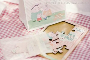 Princess Peppa's Picnic Party with Lots of Really Cute Ideas via Kara's Party Ideas KarasPartyIdeas.com #PicnicParty #PeppaPigParty #PartyIdeas #Supplies (14)