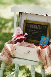Princess Peppa's Picnic Party with Lots of Really Cute Ideas via Kara's Party Ideas KarasPartyIdeas.com #PicnicParty #PeppaPigParty #PartyIdeas #Supplies (12)