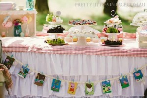 Princess Peppa's Picnic Party with Lots of Really Cute Ideas via Kara's Party Ideas KarasPartyIdeas.com #PicnicParty #PeppaPigParty #PartyIdeas #Supplies (6)