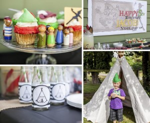 Peter Pan Party with Lots of Fun Ideas via Kara's Party Ideas | KarasPartyIdeas.com #PeterPan #Tinkerbell #PartyIdeas #Supplies (18)