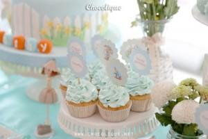 Peter Rabbit Themed 1st Birthday Party with Full of Really Cute Ideas via Kara's Party Ideas | KarasPartyIdeas.com #PeterRabbit #BeatrixPotter #PartyIdeas #Supplies (4)