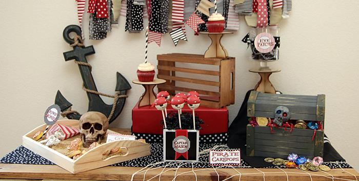karas party ideas pirate themed birthday party ideas