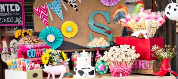 Girly Rodeo Party with Lots of Really Cute Ideas via Kara's Party Ideas | KarasPartyIdeas.com #CowgirlParty #WesternParty #PartyIdeas #Supplies (2)