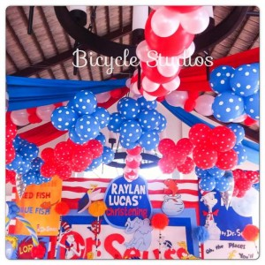 Dr. Seuss Christening Party with Lots of Cute Ideas via Kara's Party Ideas | KarasPartyIdeas.com #DrSeussParty #PartyIdeas #Supplies (8)