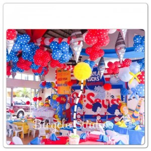Dr. Seuss Christening Party with Lots of Cute Ideas via Kara's Party Ideas | KarasPartyIdeas.com #DrSeussParty #PartyIdeas #Supplies (15)
