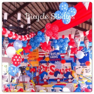 Dr. Seuss Christening Party with Lots of Cute Ideas via Kara's Party Ideas | KarasPartyIdeas.com #DrSeussParty #PartyIdeas #Supplies (2)