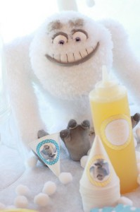 Abominable Snowman Party with Such Cute Ideas via Kara's Party Ideas | KarasPartyIdeas.com #AbominableSowman #Yeti #SnowballCake #SnowConeParty #PartyIdeas #Supplies (7)
