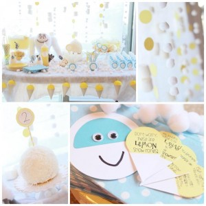 Abominable Snowman Party with Such Cute Ideas via Kara's Party Ideas | KarasPartyIdeas.com #AbominableSowman #Yeti #SnowballCake #SnowConeParty #PartyIdeas #Supplies (1)