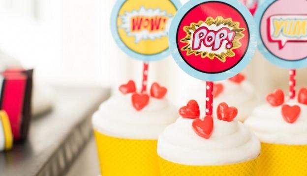 Superhero Valentine's Day Party Full of Really Cute Ideas via Kara's Party Ideas | KarasPartyIdeas.com #SuperheroParty #ValentinesDayParty #PartyIdeas #Supplies (54)