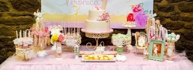 Sweet Ballerina Themed 1st Birthday Party with So Many Really Cute Ideas via Kara's Party Ideas KarasPartyIdeas.com #BalletParty #VintageBallerina #PartyIdeas #Supplies (31)