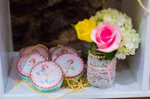 Sweet Ballerina Themed 1st Birthday Party with So Many Really Cute Ideas via Kara's Party Ideas KarasPartyIdeas.com #BalletParty #VintageBallerina #PartyIdeas #Supplies (14)