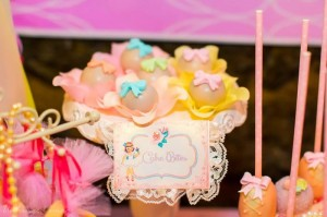 Sweet Ballerina Themed 1st Birthday Party with So Many Really Cute Ideas via Kara's Party Ideas KarasPartyIdeas.com #BalletParty #VintageBallerina #PartyIdeas #Supplies (12)