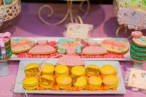 Sweet Ballerina Themed 1st Birthday Party with So Many Really Cute Ideas via Kara's Party Ideas KarasPartyIdeas.com #BalletParty #VintageBallerina #PartyIdeas #Supplies (8)