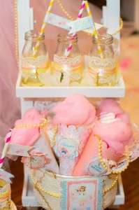 Sweet Ballerina Themed 1st Birthday Party with So Many Really Cute Ideas via Kara's Party Ideas KarasPartyIdeas.com #BalletParty #VintageBallerina #PartyIdeas #Supplies (6)