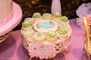 Sweet Ballerina Themed 1st Birthday Party with So Many Really Cute Ideas via Kara's Party Ideas KarasPartyIdeas.com #BalletParty #VintageBallerina #PartyIdeas #Supplies (4)
