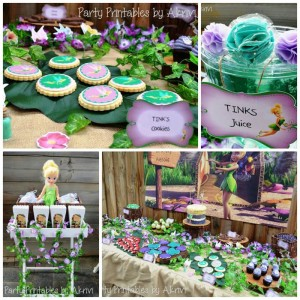 Tinkerbell Party with Lots of Really Cute Ideas via Kara's Party Ideas | KarasPartyIdeas.com #Tinkerbell #Fairies #PartyIdeas #Supplies (1)