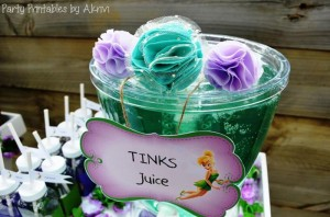 Tinkerbell Party with Lots of Really Cute Ideas via Kara's Party Ideas | KarasPartyIdeas.com #Tinkerbell #Fairies #PartyIdeas #Supplies (4)